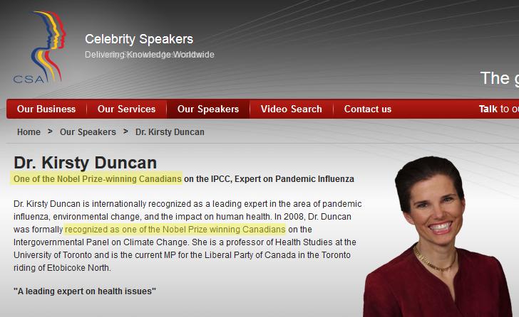 Kirsty DUNCAN, Member of Parliament (Canada)